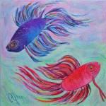 """""""BETTA  FISH"""" by pjaysart"""