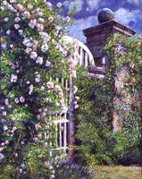 Romantic Rose Gate