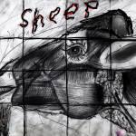 """""""Mutant sheep madness drawing"""" by FollowTheDon"""