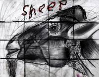 Mutant sheep madness drawing