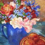 """""""Flowers from the Garden"""" by BarbaraRedingStudios"""