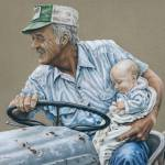 """Generations"" by powellfineart"