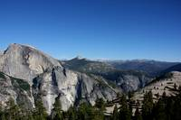 Half Dome, Full-Faced, from North Dome