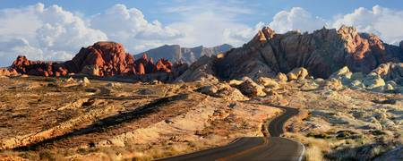 Trail's End.  Valley of Fire.