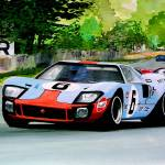"""Ford GT 40 LeMans 1969"" by pressman"