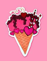 Ice Cream Valentine's Day