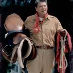 """Ronald Reagan at Rancho de Cielo"" by worldwidearchive"
