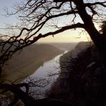 """River Elbe, view from Bastei, Germany"" by LenkaC"