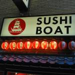 """Sushi Boat"" by hankpaccino_420"