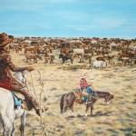 """""""Herd Round-up"""" by andrewakufo"""