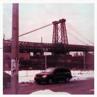 williamsburg bridge Art Prints & Posters by Bonnie Natko