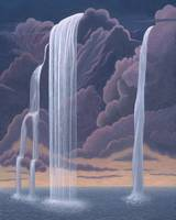 Waterfall from a Cloud