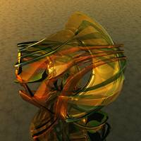 Virtual Glass Sculpture XIII