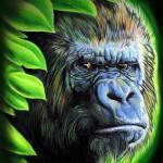 """""""Portrait Gorilla"""" by Willemxsm"""