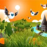 """The Flying Eyeballs Landscape"" by Willemxsm"