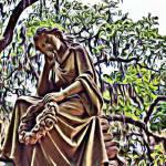 """Savannah Lady in Stone"" by jennifercahoon"