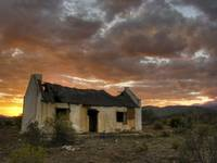 Old Karoo farm house