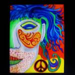 """Peace Earing by Anthony Davais"" by Anthonydavais"