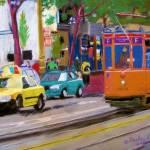 """""""San Francisco Trolly Car"""" by garlandoldham"""