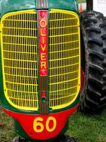 Grille-Old Oliver Tractor