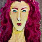 """Abstract Portrait"" by jennifercahoon"