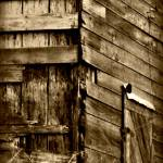 """B&W Old Barn"" by imagesbyjulie"