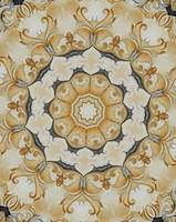 Golden Yellow shabby Chic french country Rosette