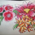 """""""random flowers"""" by KrissieMarie"""