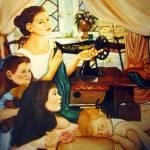 """SEWING ROOM"" by Dalgisart"