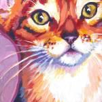 """Abyssinian Cat"" by Morianart"