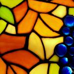 """Stained Glass Grapes"" by bettynorthcutt"