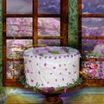 """Cake and Lavender"" by maryostudio"