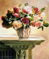 Mantlepiece Roses