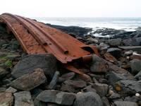 Shipwreck on Monhegan