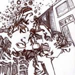 """the drunkards walk"" by Yossari"
