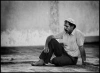 Man in mosque