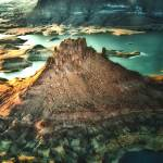 """Butte at Lake Powell -- Utah"" by dennisherzog"