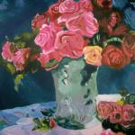 """""Vase of Flowers"""" by ModernImpressionist"
