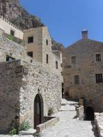 Monemvasia's stone buildings
