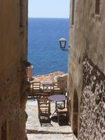 Alley in Monemvasia