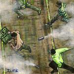 """Flee"" by Zunk"