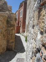 Tiny alley in Monemvasia