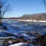 """Illinois River Thaw"" by LillianDavis"