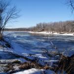 """Illinois River Thaw"" by LillianDavis"