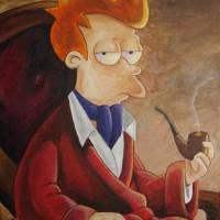 Philip J. Fry Art Prints & Posters by mousersix