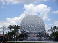 Disney Epcot Center Spaceship Earth