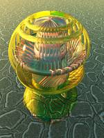 Virtual Glass Sphere VIII