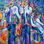 """""""Jazz Standing"""" by neworleansartist"""