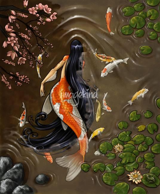 Artworks, Mermaids and Mermaid artwork on Pinterest
