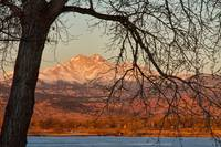 Longs Peak and Mt Meeker Twin Peaks Color Image